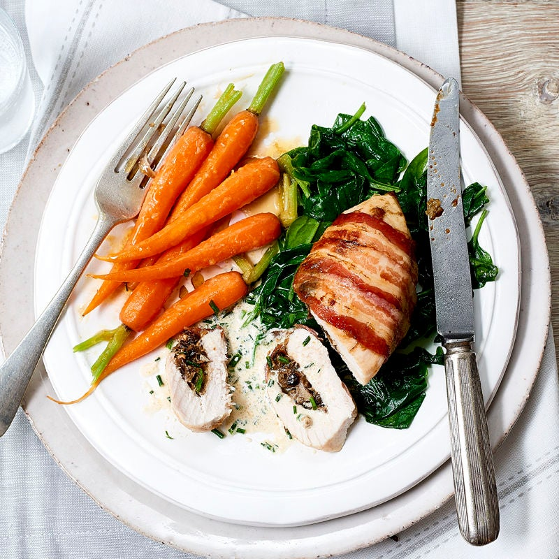 Photo of Stuffed chicken breasts with mushrooms & Stilton by WW