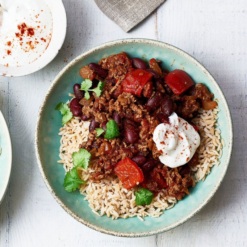 Photo of Chilli con carne with rice by WW