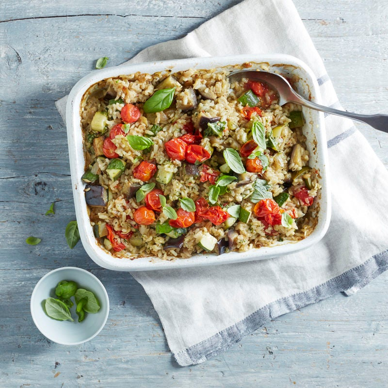 Photo of Oven-baked ratatouille risotto by WW