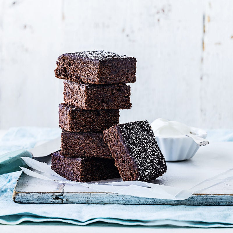 Photo of Chocolate butternut brownies by WW