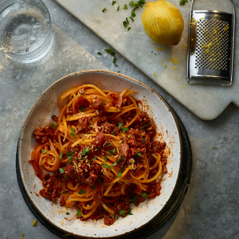 Photo of Pork & fennel ragù with butternut noodles by WW