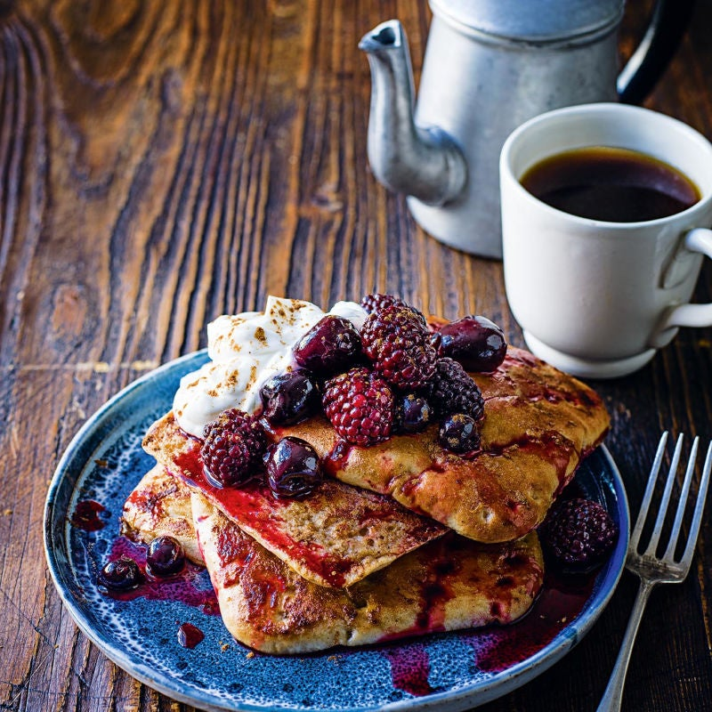 Photo of French toast with Black Forest compote by WW
