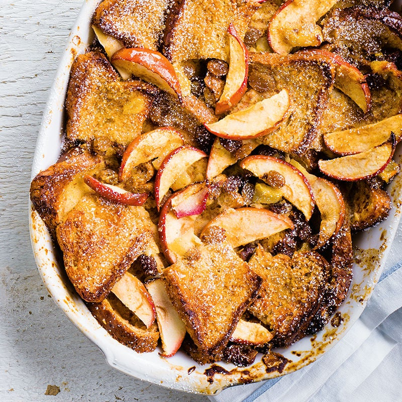 Photo of Apple bread pudding by WW