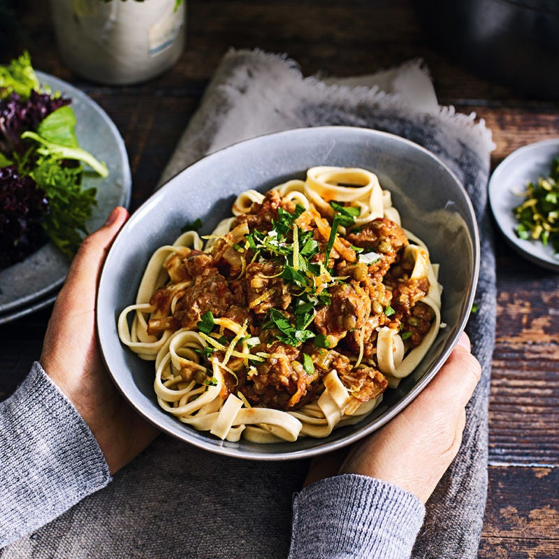 Photo of Lamb ragù with pasta by WW