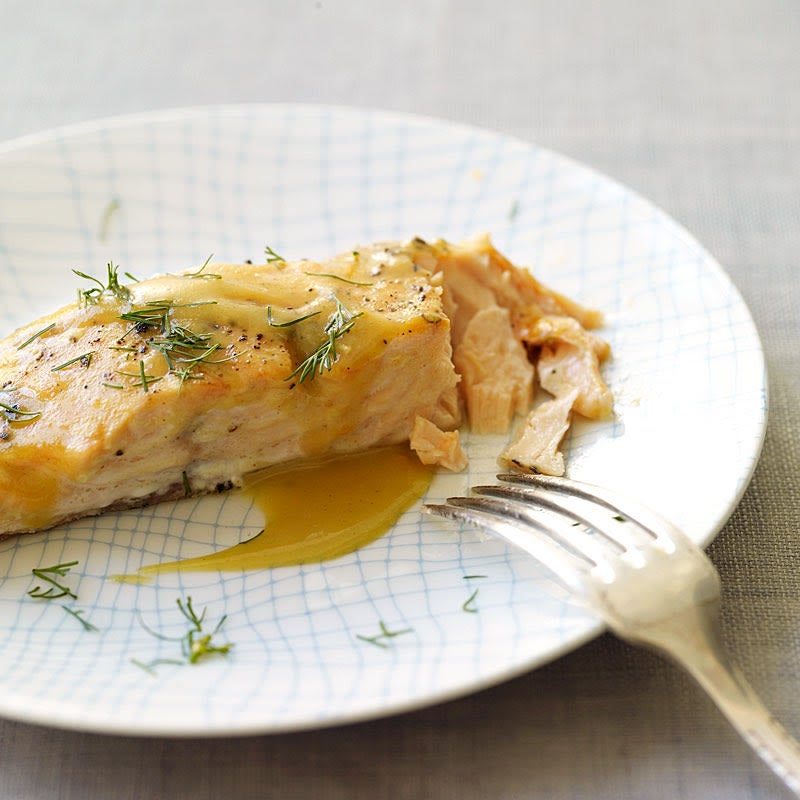 Photo of Honey-mustard roasted salmon by WW