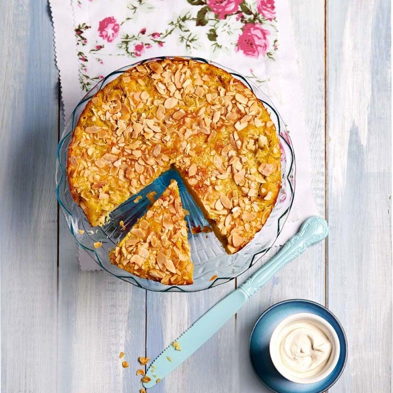 Photo of Almond & rhubarb cake by WW
