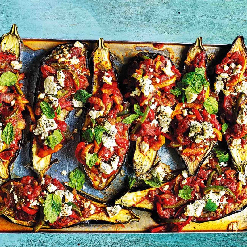 Photo of Turkish-style stuffed aubergines by WW