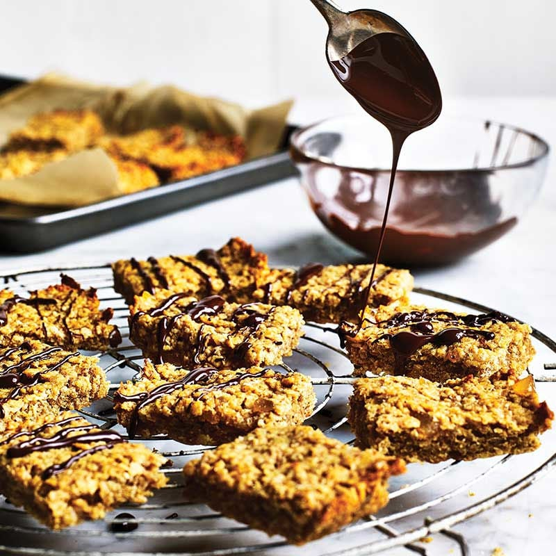 Photo of Ginger & chocolate flapjacks by WW