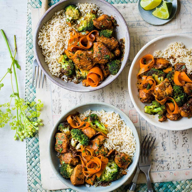 Photo of Honey & ginger chicken stir-fry by WW
