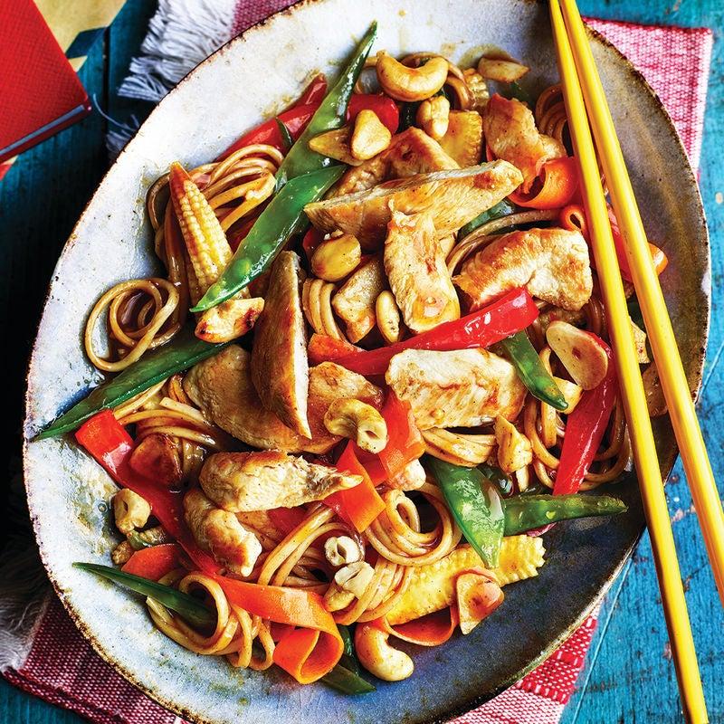 Photo of Chicken & cashew stir-fry by WW