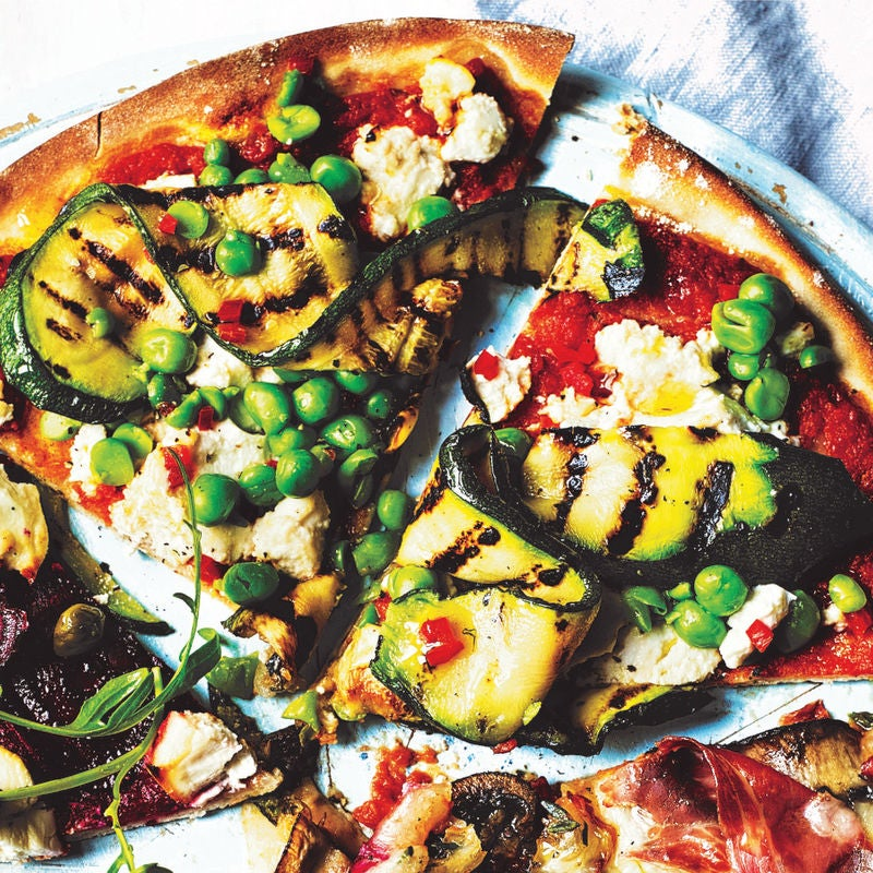 Photo of Spicy ricotta, courgette & peas pizza topping by WW