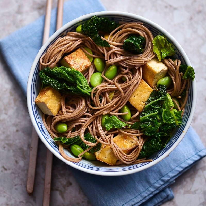 Photo of Sesame soba noodle stir-fry by WW