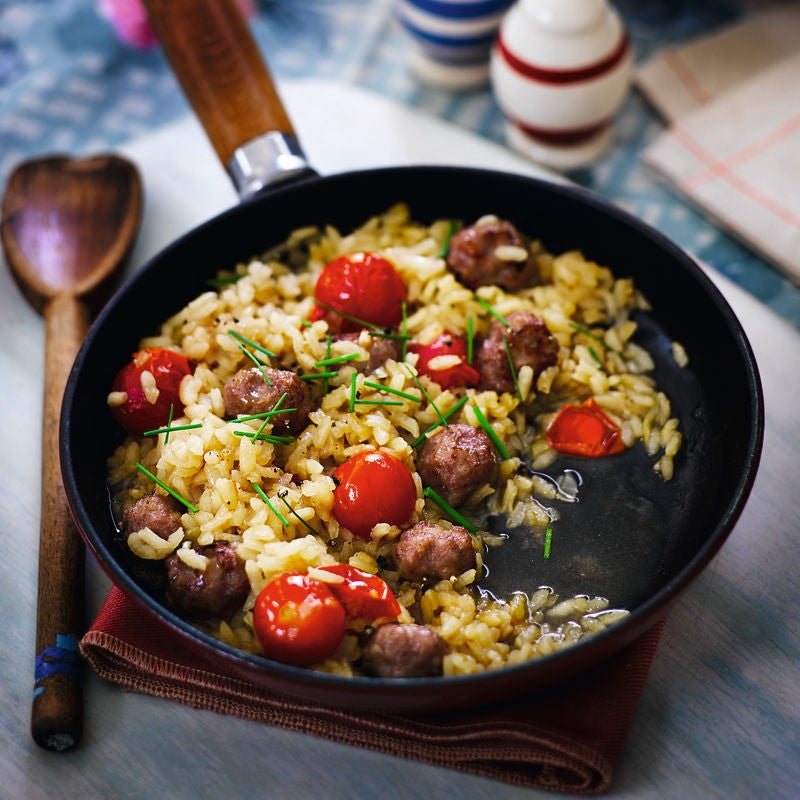 Photo of Sausage, tomato & herb risotto by WW