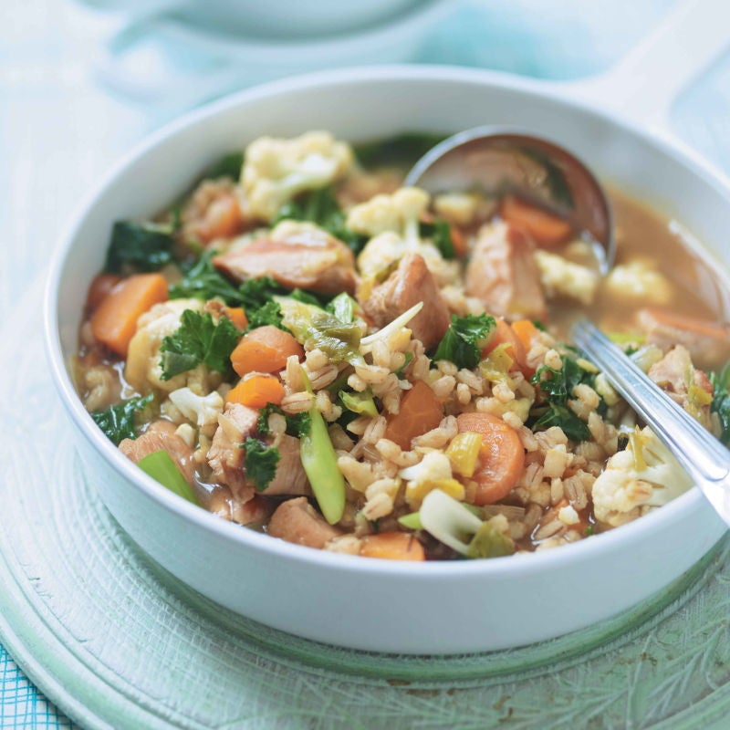 Photo of Chicken & spring vegetable stew by WW