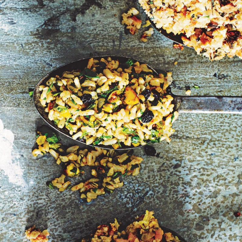 Photo of Nutty rice stuffing by WW