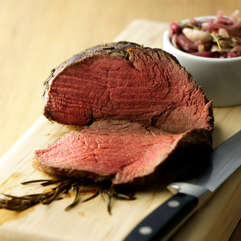 Photo of Rosemary beef fillet with onion & mushroom relish by WW