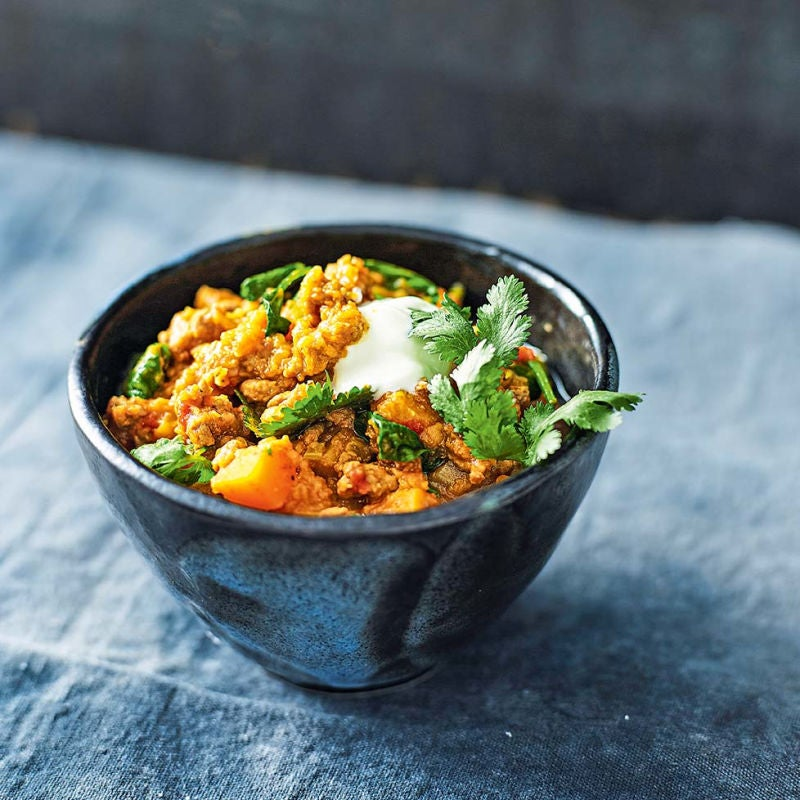 Photo of Beef & lentil curry by WW