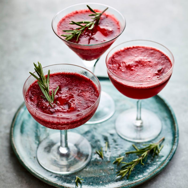 Photo of Blackberry & rosemary fizz by WW