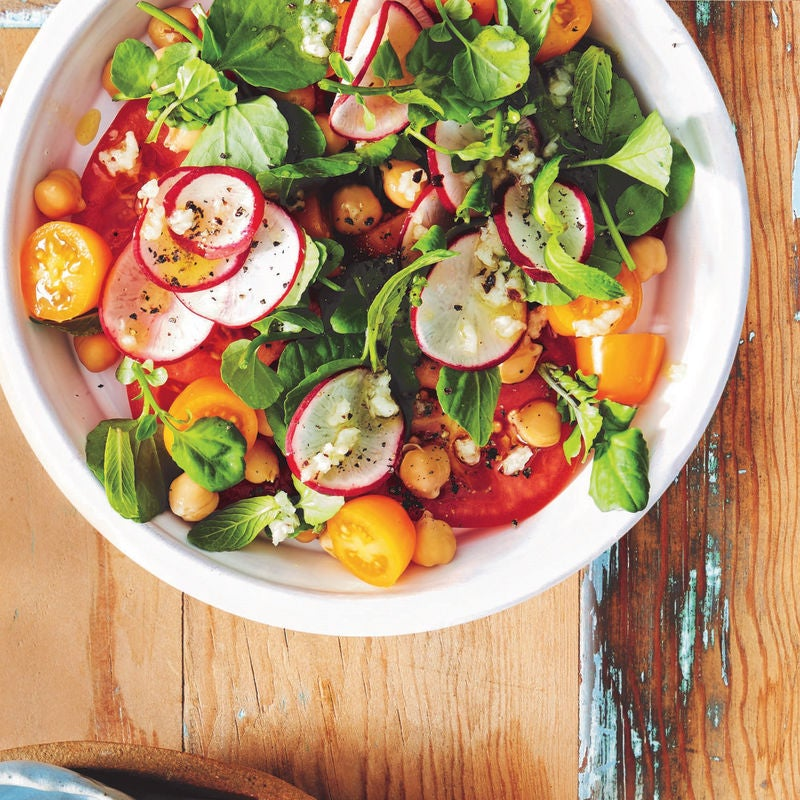 Photo of Tomato & chickpea salad by WW