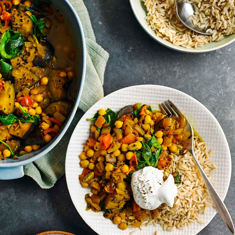 Photo of Chickpea vegetable curry by WW