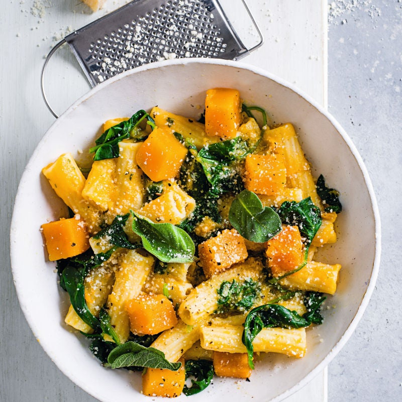 Photo of Rigatoni with butternut squash & sage by WW