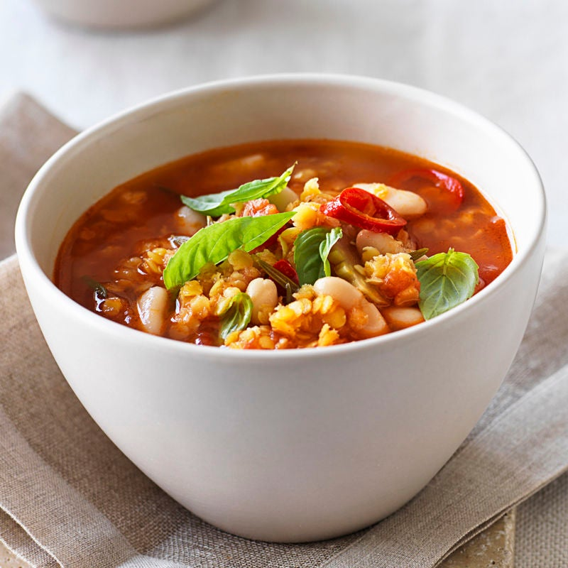 Photo of Spicy red lentil soup by WW