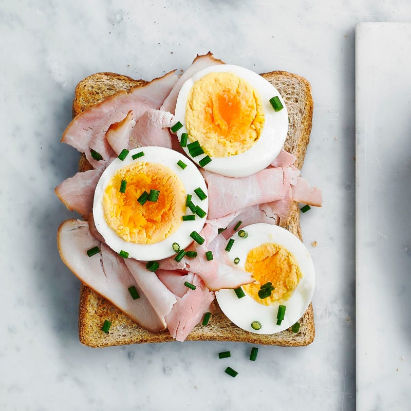 Photo of Ham & egg toast topper by WW