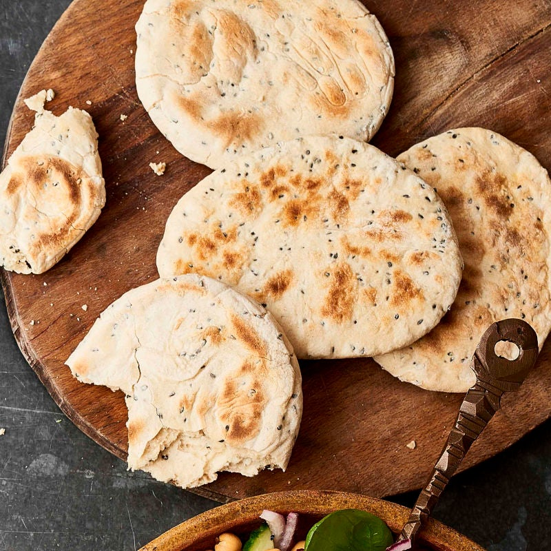Photo of Mini naan breads by WW