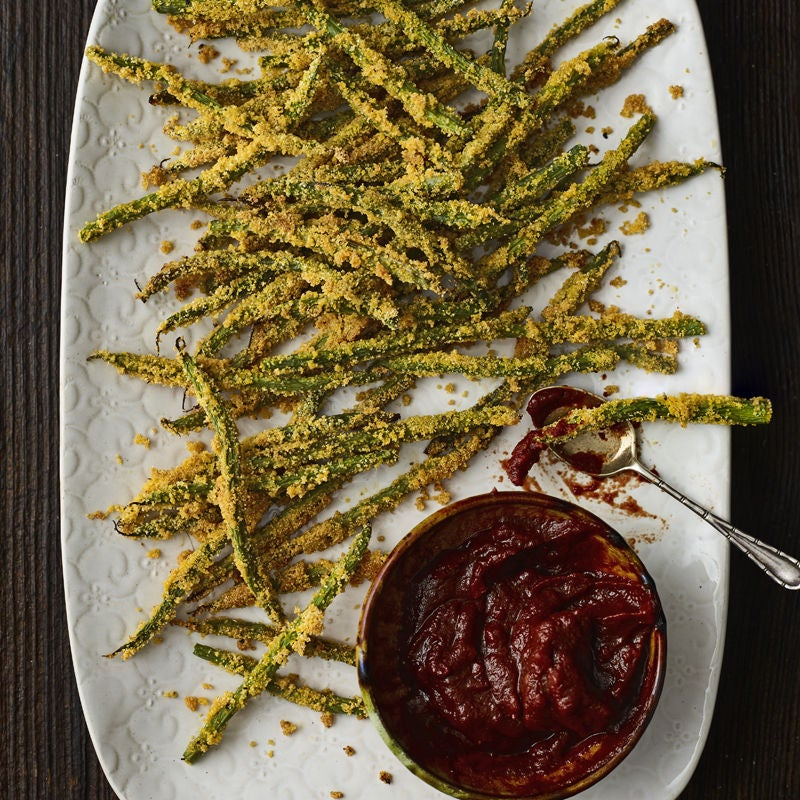 Photo of Crispy green bean 'fries' by WW