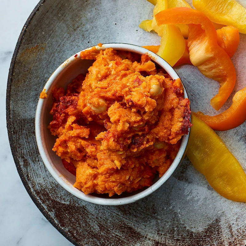 Photo of Carrot & harissa houmous by WW