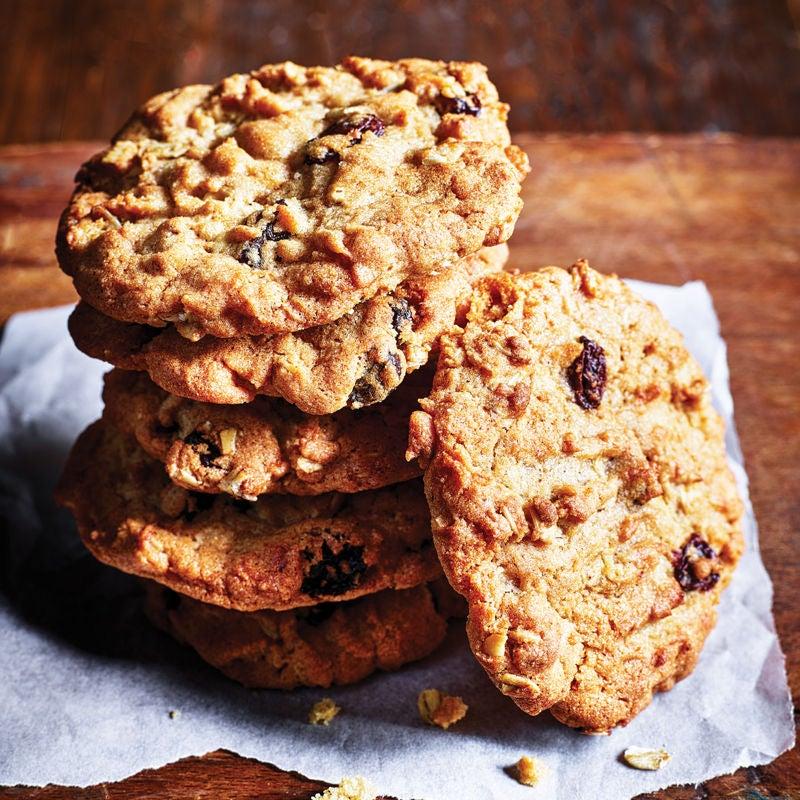 Photo of Oat & raisin cookies by WW