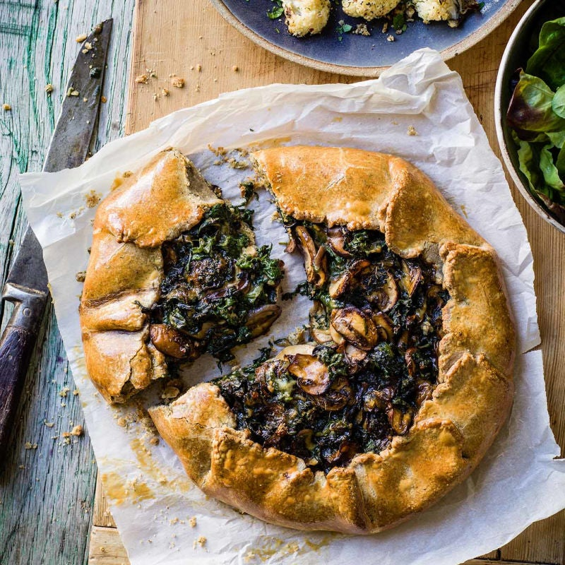 Photo of Spinach & mushroom galette by WW