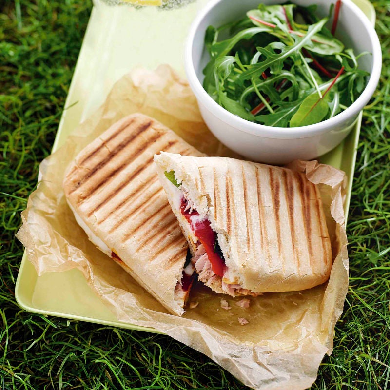 Photo of Tuna & red pepper panini by WW