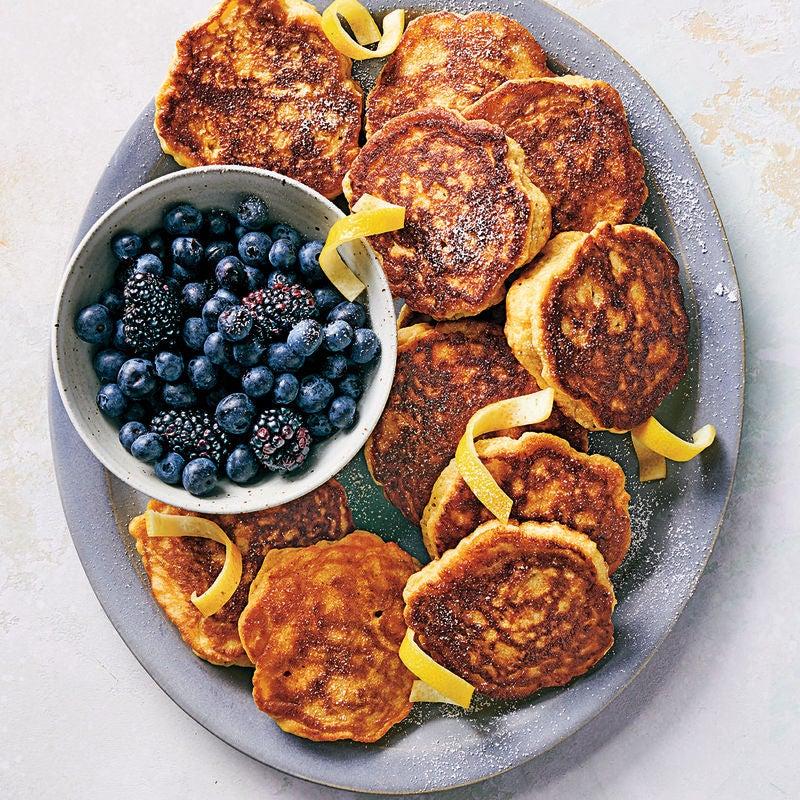 Photo of Lemon & ricotta pancakes by WW