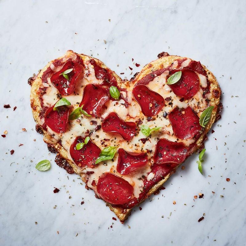 Photo of Mozzarella & pepperoni cauliflower crust pizza by WW