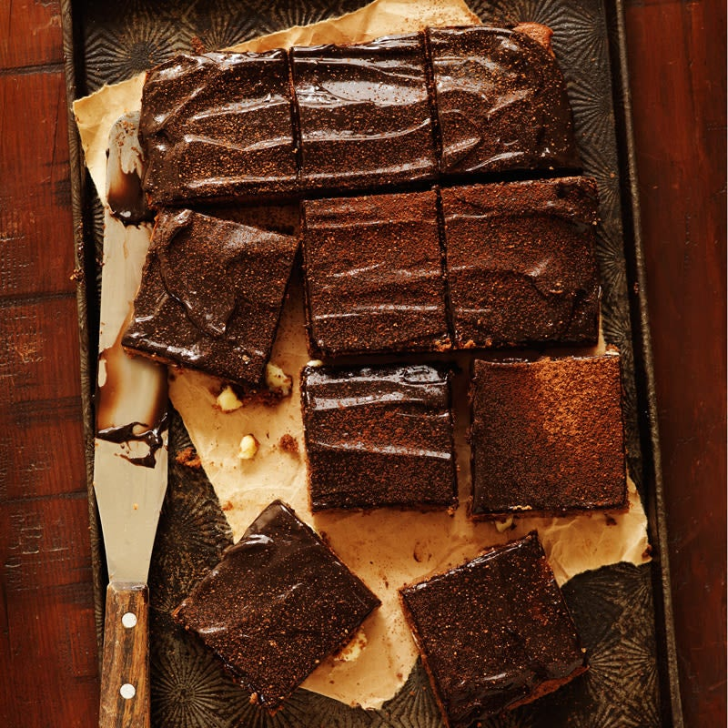 Photo of Triple chocolate brownie by WW