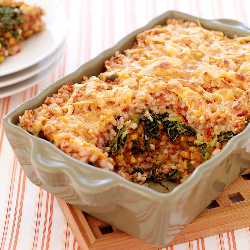 Photo of Mexican-style brown rice casserole by WW