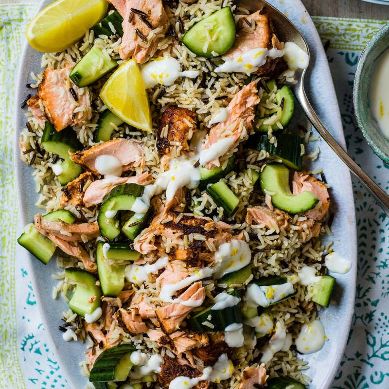 Photo of Spiced salmon & rice salad by WW