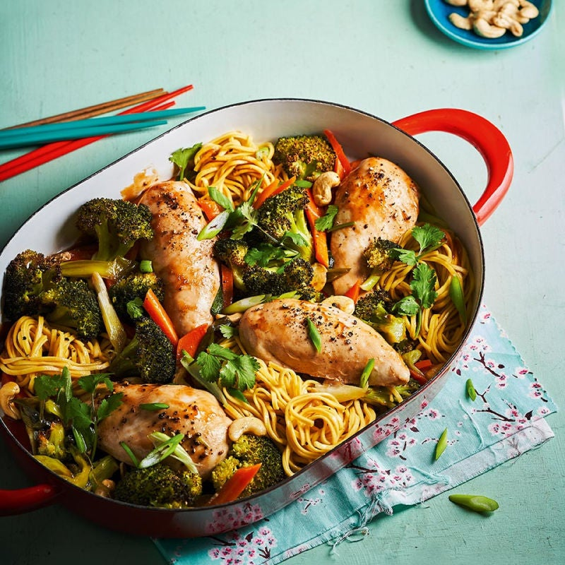 Photo of Chicken chow mein bake by WW
