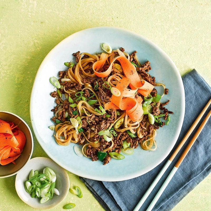Photo of Asian beef & noodle bowl by WW