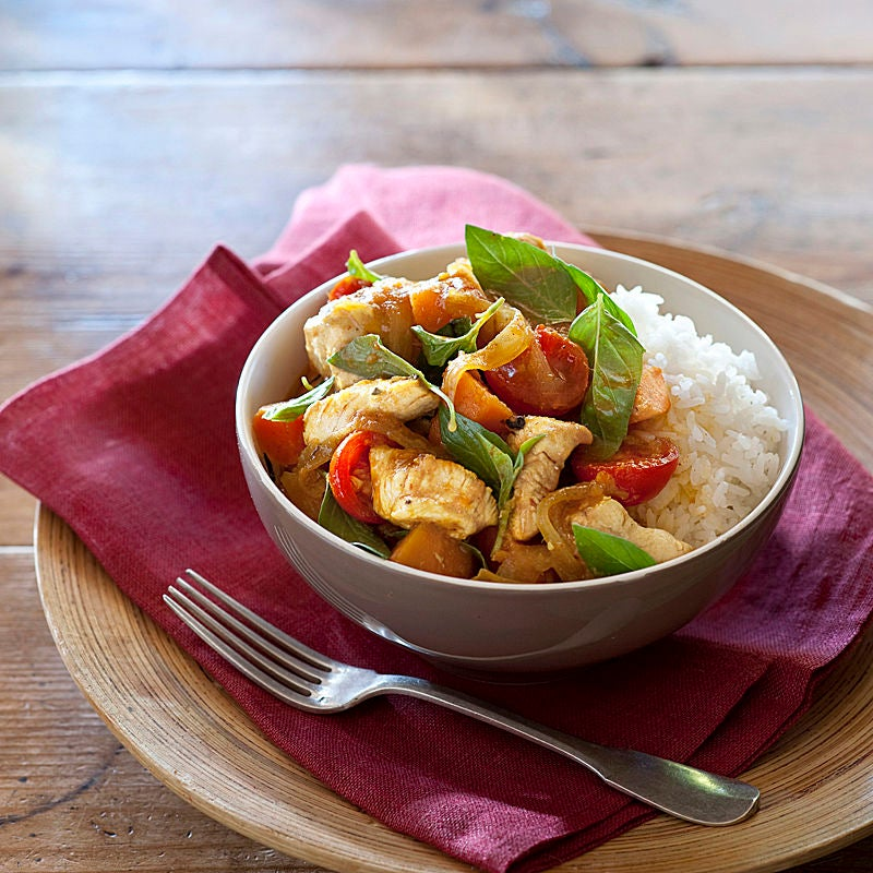 Photo of Creamy red chicken curry by WW