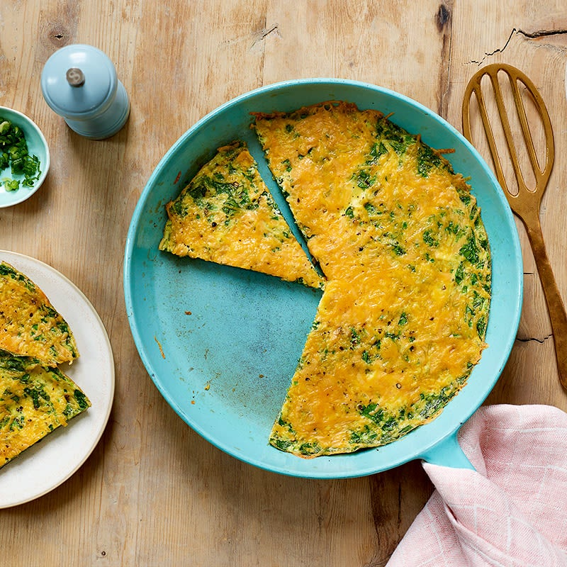 Photo of Spinach & leek frittata by WW