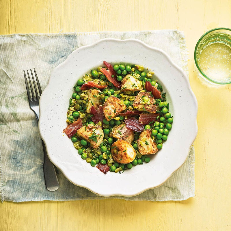 Photo of Pea & bacon salad by WW