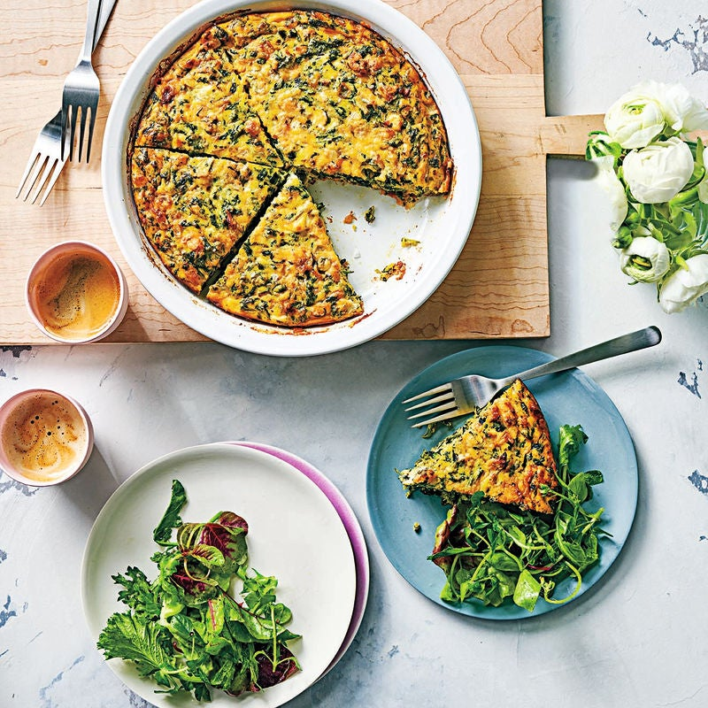Photo of Five cheese spinach quiche by WW