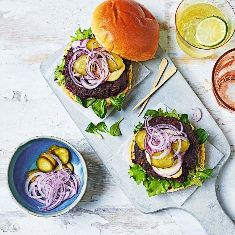 Photo of Roast beetroot burgers by WW