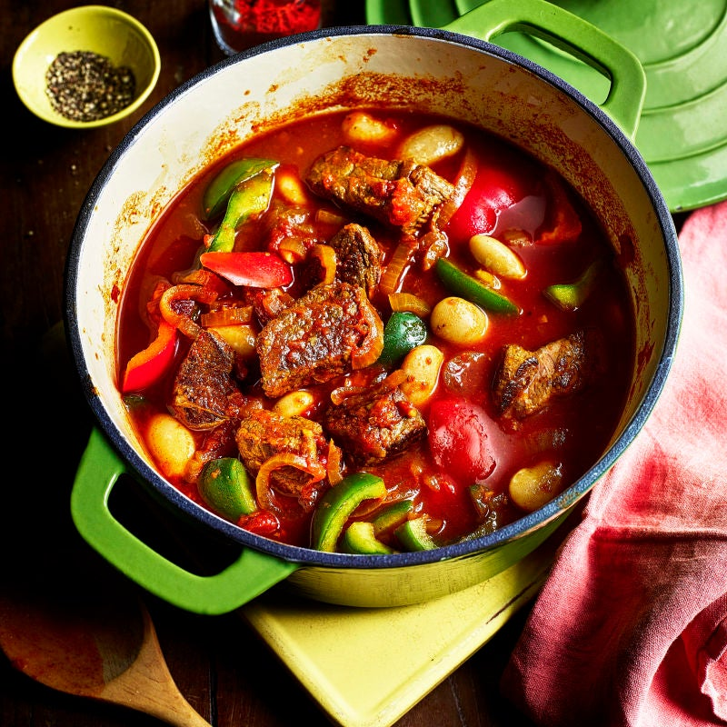 Photo of Paprika beef & butter bean goulash by WW
