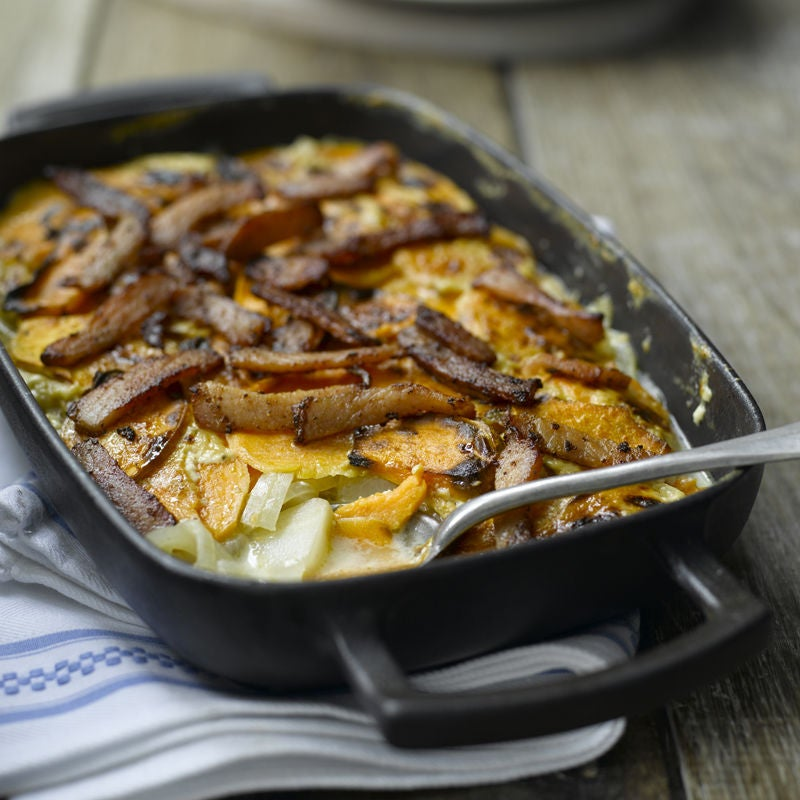 Photo of Sweet potato & celeriac bake by WW