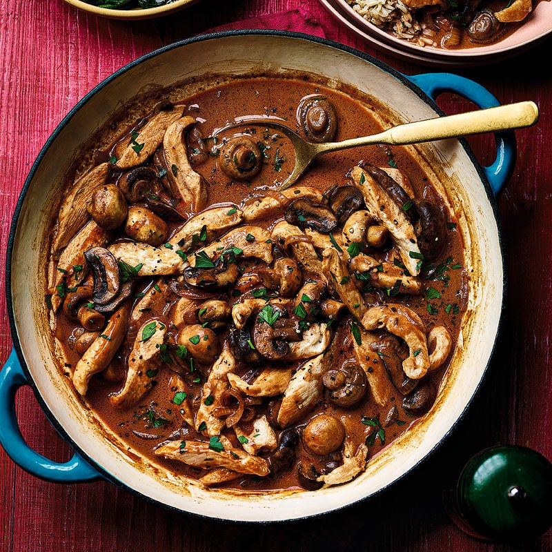 Photo of Chicken & mushroom stroganoff by WW