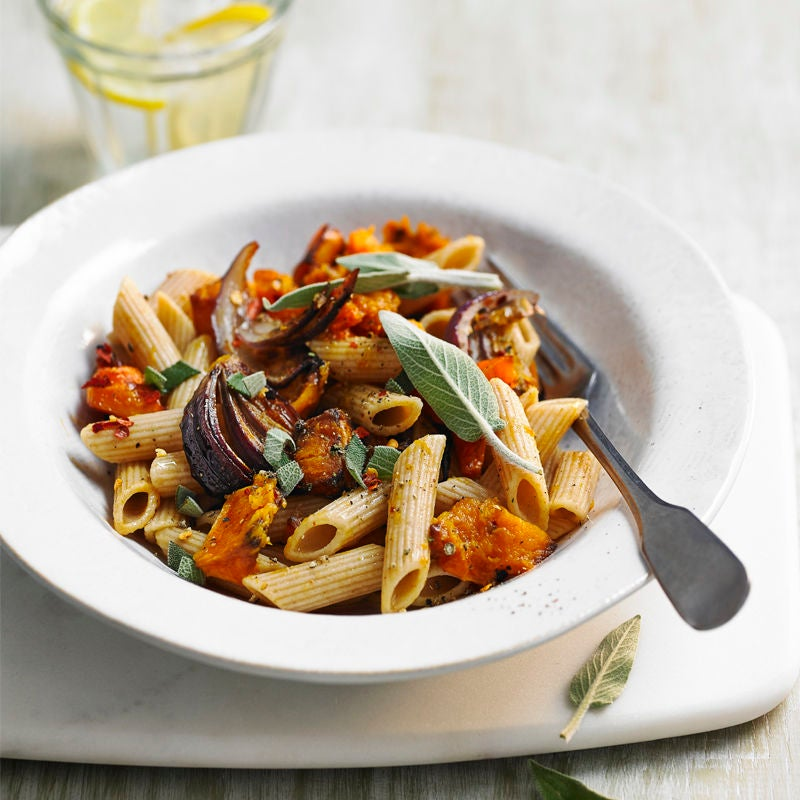 Photo of Roasted butternut & red onion penne by WW