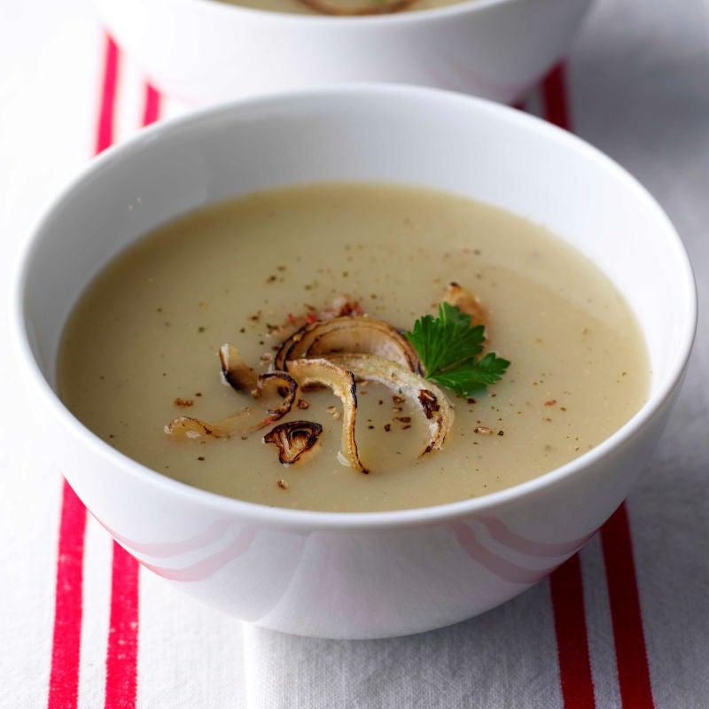 Photo of Roasted garlic, shallot & potato soup by WW